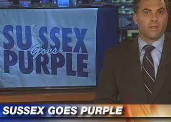 Sussex Goes Purple