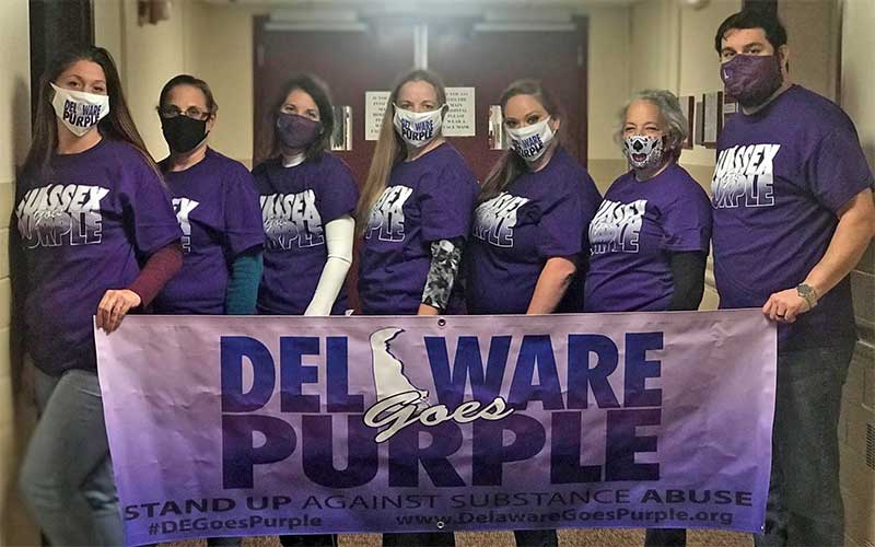 Delaware Goes Purple
